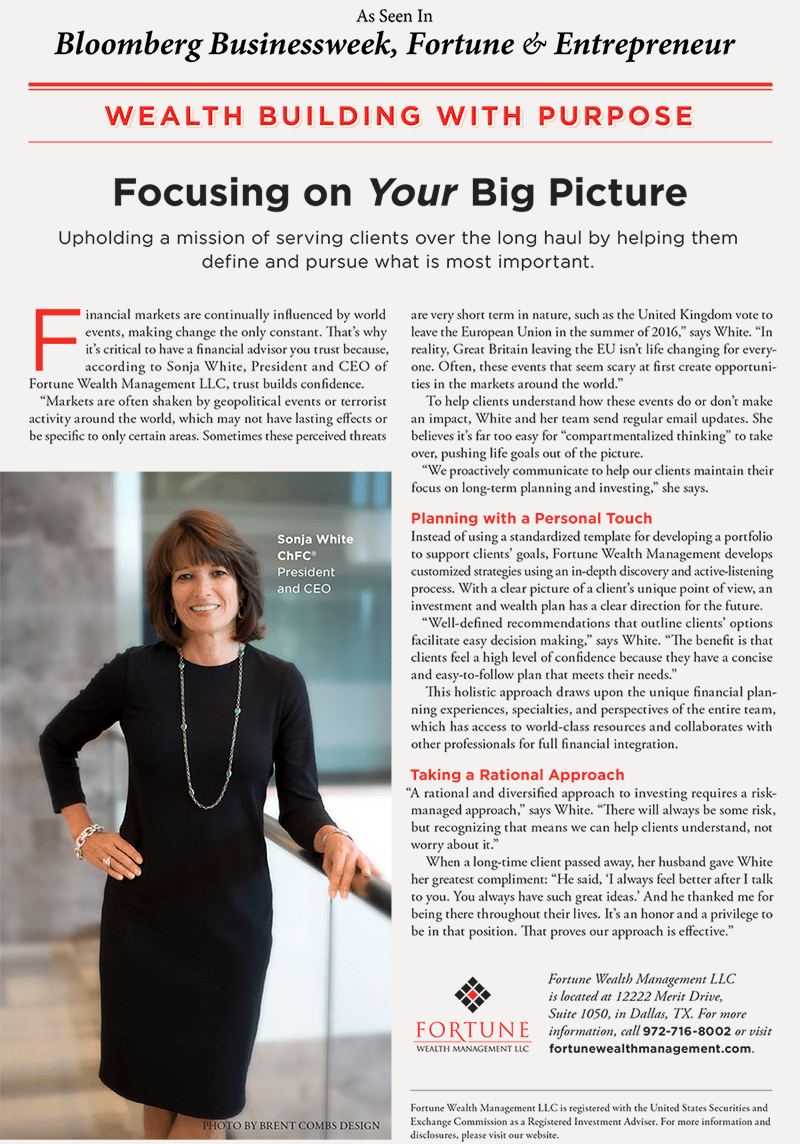 Focusing on Your Big Picture Article